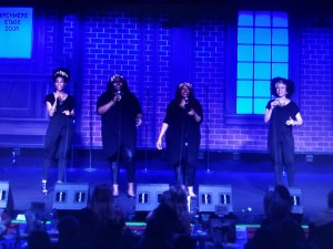 Singing on stage at The Birchmere